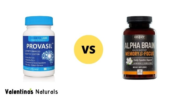 Provasil vs Alpha Brain - which wins?